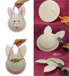 bunny plate bag