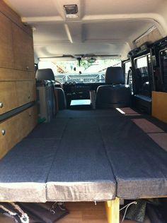Land Rover Defender Camper interior (www.travel-north.com)