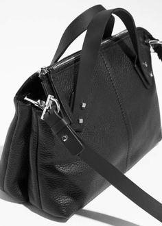 57fbf4d50e78 Grainy Leather Handbag Leather Backpack
