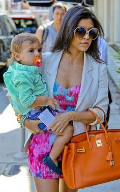 I Adore stylish moms especially Kourtney K