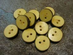 12 Sugar Maple Tree Branch Buttons. Just Under by PymatuningCrafts, $7.20