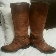 Freebird by Steven Madden Size 10 Freebird by Steve Madden  leather boots Steve Madden Shoes