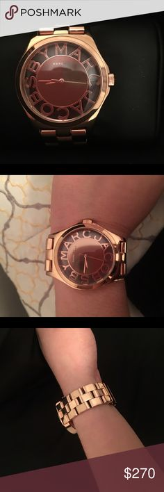Marc Jocobs watch brand new Brand new rose gold Marc Jacobs watch Marc Jacobs Accessories Watches