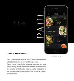 """Check out this @Behance project: """"Paul bakery delivery - UX & UI redesign"""" https://www.behance.net/gallery/47093631/Paul-bakery-delivery-UX-UI-redesign"""