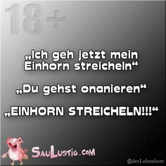 Einhorn-streicheln https://www.facebook.com/SauLustig