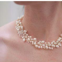 Wedding Day Adornments - Earthy Pearls 9