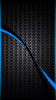 Black With Blue Wallpaper