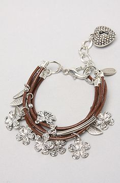 leather and charms modern twist on a traditional favorite