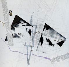 Architecture Drawing Posters daniel libeskind | paintings and illustrations | pinterest