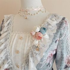 Le Miroir -The Fragrant Flower Wall- Classic Lolita Accessories