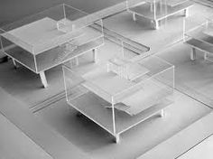 Image result for spray painted acrylic architectural models