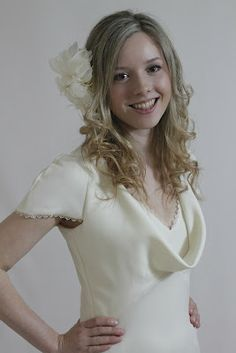 1583bbc289 My version of the Pippa Middleton bridesmaid dress using Butterick 5710.  Modelled by my sister