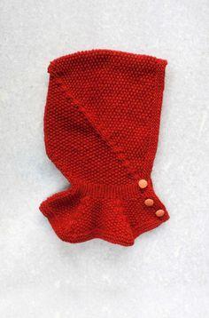 Liripipe Hood // knitting for kids // www.g-uld.dk