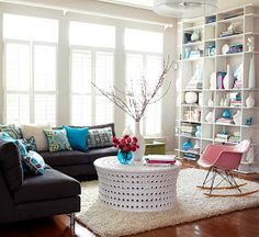 Modern Furniture Design 2013 Contemporary Living Room Decorating Ideas From BHG