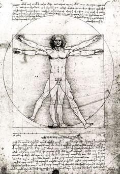 Contemporary Vitruvian man. Test prints made for a later piece of work subverting da Vinci's theory of 'ideal' human proportions which is an illusory concept hence the body not being constrained by Leo's grids. | eBay!