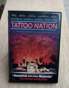 Tattoo Nation (DVD, 2013) Documentary Corey Miller Narrator Danny Trejo NR