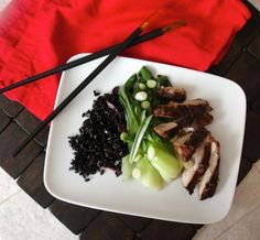 Low-Sodium Sesame Chicken and Bok Choy by Sodium Girl    http://www.sodiumgirl.com/love-and-bok-choy/#