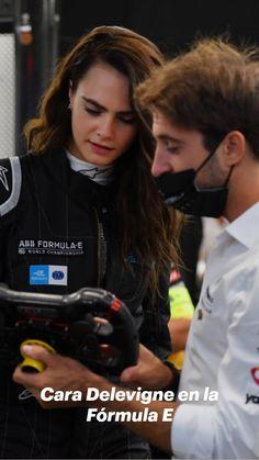 Sports Car Racing, Sport Cars, Cara Delevingne, Race Car Party, Formula E, Hollywood, Actresses, Fashion, Templates