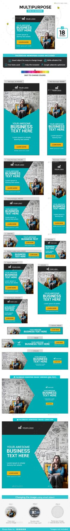 Multipurpose Banners - Banners & Ads Web Elements Download here  : https://graphicriver.net/item/multipurpose-banners/19316482?s_rank=10&ref=Al-fatih