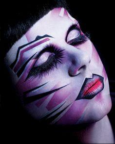extreme face makeup | MmmmRRRGWRrrmmmmnnnfpj: March 2011