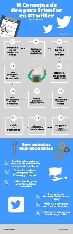 11 consejos de oro para triunfar en #Twitter