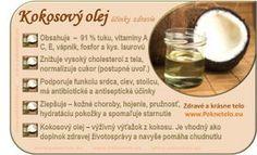 Info kokosový olej