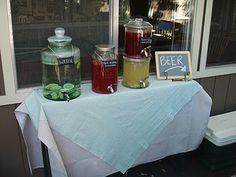 outdoor party idea