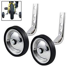 "20/"" Wheels Universal Multi-Color Kids Bicycle Stabilsers //Training Wheels 12/"""