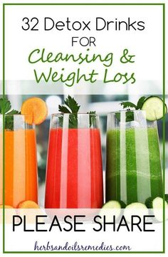 Dr Oz 3 Day Detox Cleanse Diet 32 Detox Drinks for Cleansing & Weight Loss Weight Loss Herbs, Weight Loss Drinks, Healthy Weight Loss, Best Weight Loss Cleanse, Full Body Detox, Natural Detox Drinks, Natural Cleanse, Bebidas Detox, Smoothie Detox