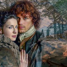 Claire & Jamie. May the actors never burn out.
