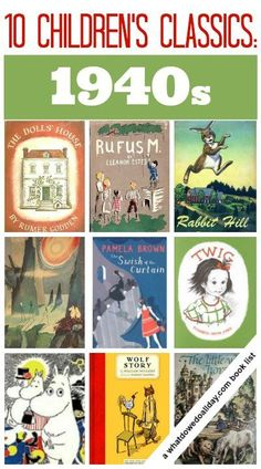Fabulous children's books from the 1940s.