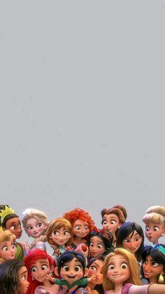 Papel de Parede Princesas Disney – Background Pictures for Celular, # Mobile … - Tumblr Wallpaper, Disney Phone Wallpaper, Cartoon Wallpaper Iphone, Cute Wallpaper Backgrounds, Cute Cartoon Wallpapers, Aesthetic Iphone Wallpaper, Mobile Wallpaper, Iphone Backgrounds, Wallpaper Wallpapers