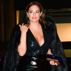 Ashley Graham Gives the LBD an Ultra-Glam Update