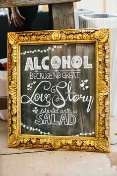 17 Cheeky Wedding Signs That Will Take Your Party To The Next Level