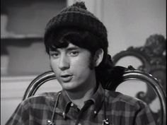 * Mike Nesmith during The Monkees screen tests Michael Nesmith, Peter Tork, Can I Please, The Brady Bunch, Pop Rock Bands, Rock N Roll Music, Father Figure, Davy Jones, The Monkees