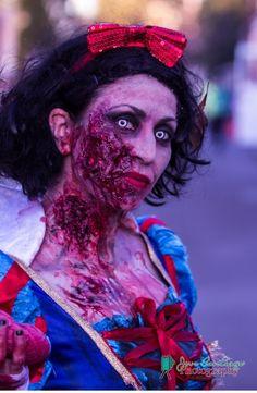 Zombie Snow White halloween costume