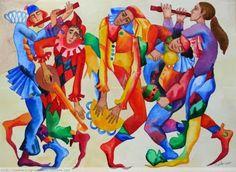 Pinzellades al món: Desfilada i ball en carnaval / Desfile y baile en carnaval / Carnival Parade and dance
