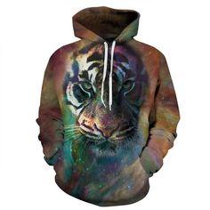 393bda762b2f Tiger 3D Printed Unisex Hoodie