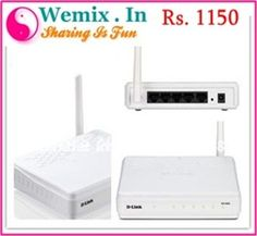 D Link DIR 600 N150 Wireless Router D Link DIR 600 N150 Wireless Router Rs. 862
