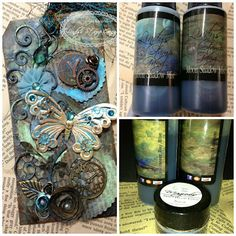 Lindy's Stamp Gang: Moon Shadow Magic *these sprays are gorgeous*