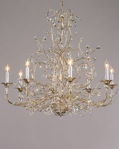 chandiliers   chandeliers with swarovski crystal drops on a hand wrought iron frame ...