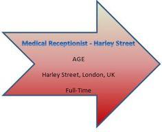 NEW JOB VACANCIES FROM AGE121...FIND MORE AT WWW.AGE121.COM/RECRUITMENT :) New Job Vacancies, Medical Receptionist, Chart
