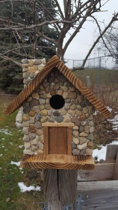 Check out this item in my Etsy shop https://www.etsy.com/listing/580603995/birdhouse-rustic-cabin-with #RusticCabins #birdhousetips #birdhouses