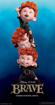 "New Disney-Pixar ""Brave"" Banner Art"