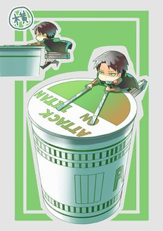 Levi Rivaille Ackerman Heichou | Attack on Titan | Shingeki no Kyojin | ♤ Anime ♤ Chibi