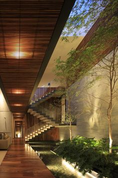 When you find zen! Casa HNN is designed by Hernández Silva Arquitectos and is located in // Photo by Carlos Díaz Corona - Architecture and Home Decor - Bedroom - Bathroom - Kitchen And Living Room Interior Design Decorating Ideas - Interior Garden, Home Interior Design, Exterior Design, Room Interior, Dream Home Design, Modern House Design, Modern Tropical House, Futuristic Architecture, Architecture Design