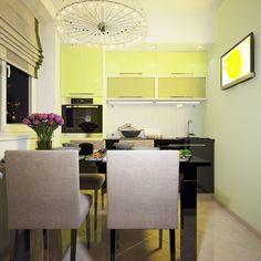 Cozinha em Verde Limão