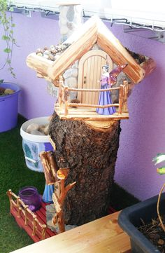 Every house should have a dog and every balcony should have a fairy...