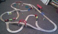 Train track ideas