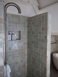 Is your home in need of a bathroom remodel? Give your bathroom design a boost with a little planning and our inspirational bathroom remodel ideas. Whether you're looking for bathroom remodeling ideas or bathroom pictures to help you update your old one Neutral Bathroom Tile, Bathroom Spa, Bathroom Toilets, Small Bathroom, Bathroom Vanities, Bathroom Hacks, Bathroom Storage, Budget Bathroom Remodel, Shower Remodel